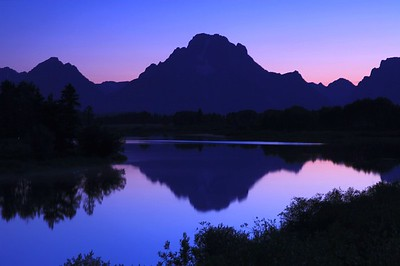 Oxbow Bend Silhouette