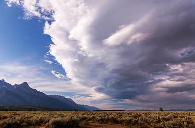 Teton Turbulent Sky