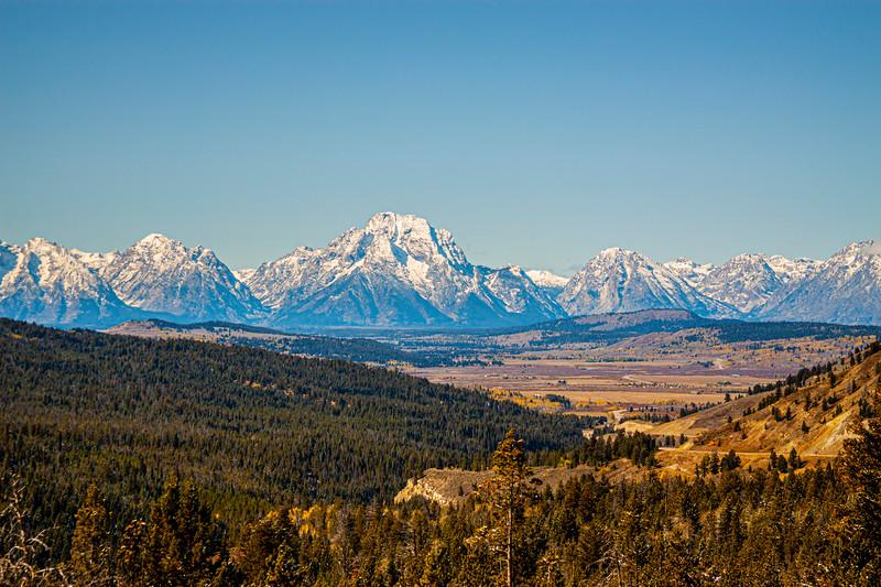 Mt. Moran (center)