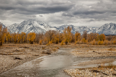 Teton Range and Spread Creek