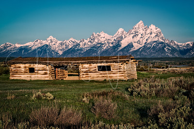 Cunningham Cabin and the Tetons