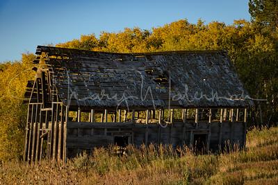 Daylight Through the Barn