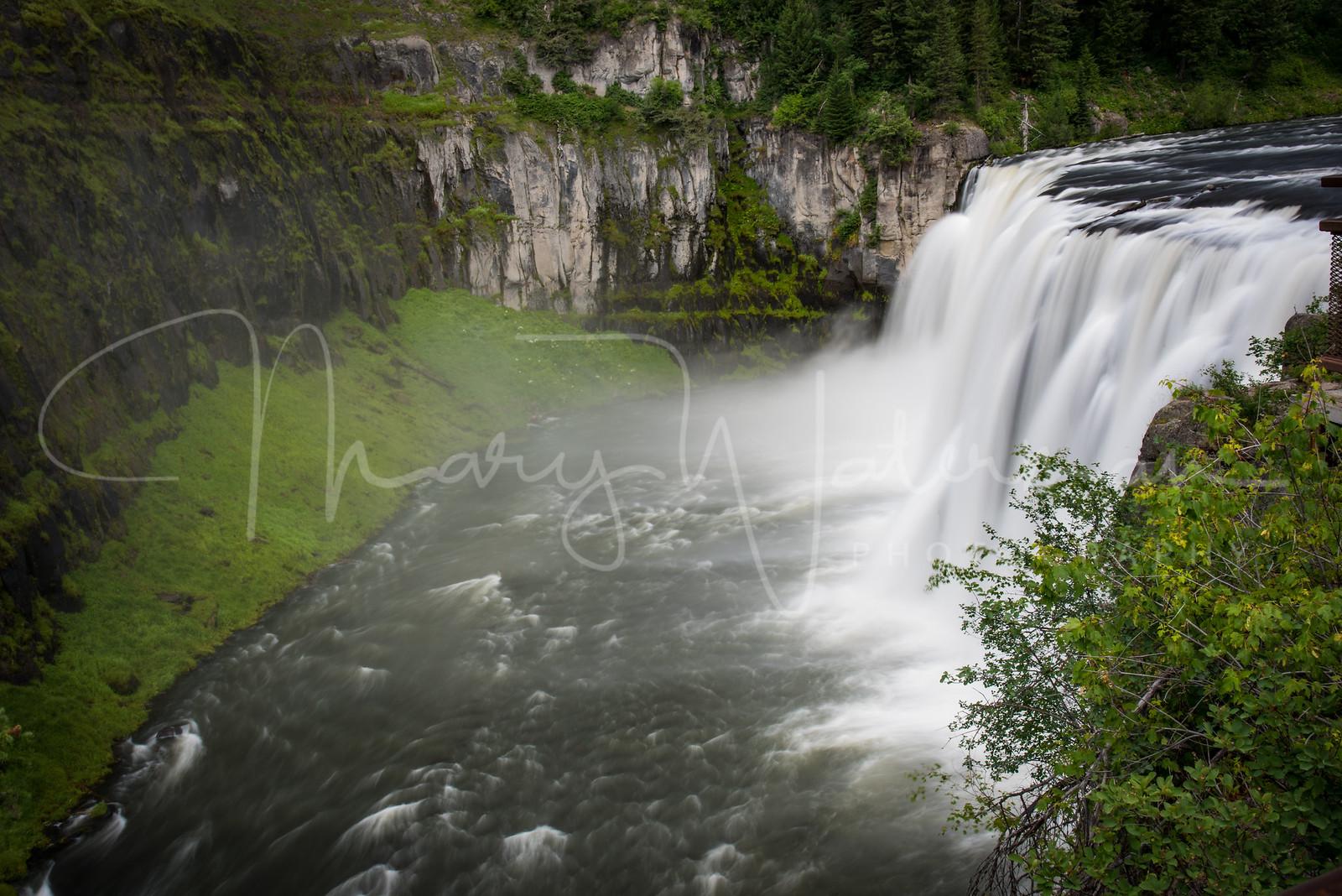 Mesa Falls in Spring