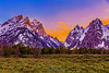 Cascade Canyon Sunset, Grand Teton National Park