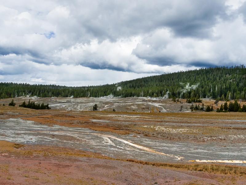 Upper Gyser Basin - Old Faithful Area