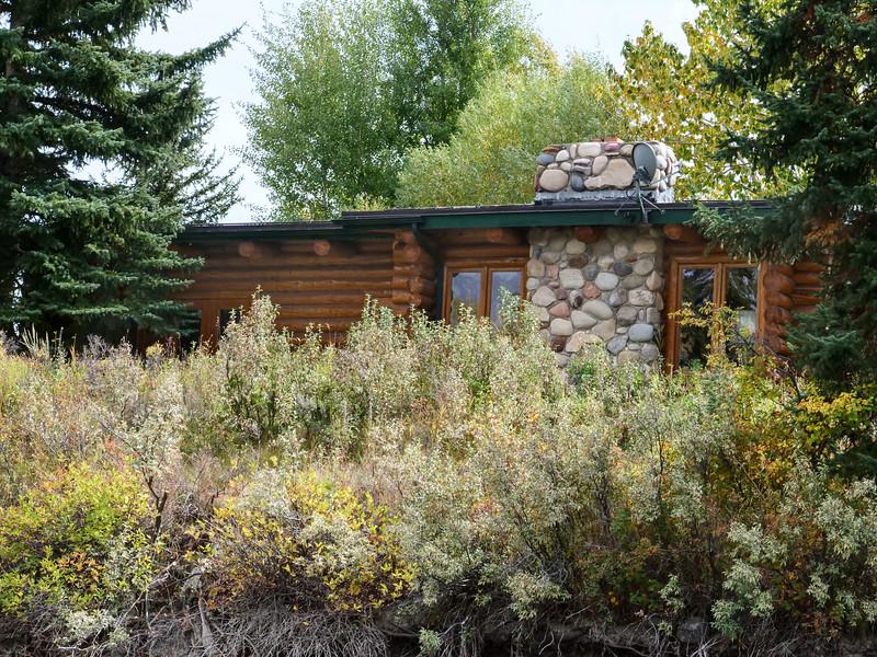 Cabin on Snake River