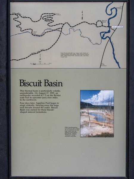 Saffire Pool / Biscuit Basin