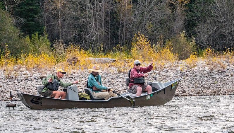 Fishermen - Snake River