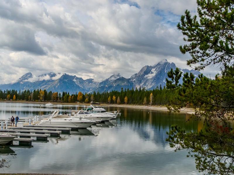 Jenny Lake - Mt Moran - Colter Bay