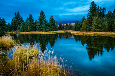 Dawn at Schwabacher Landing