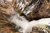 Brink of Lower Yellowstone River Falls