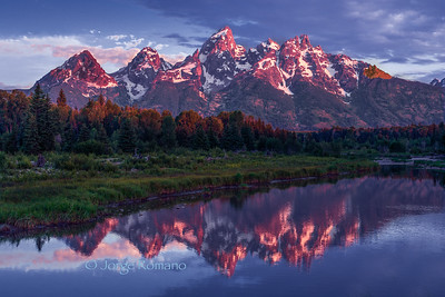 Grand Teton and The Snake River