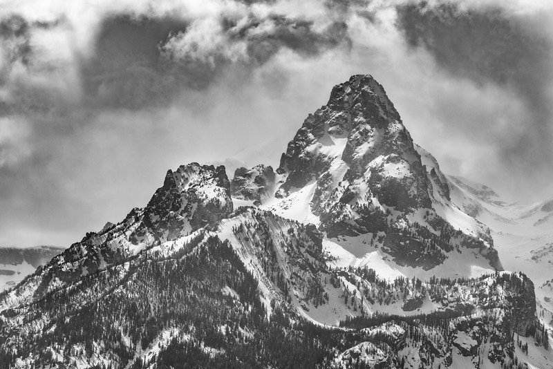 Snowy Spring in the Tetons