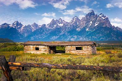 Richards___An Old Homestead in the Tetons