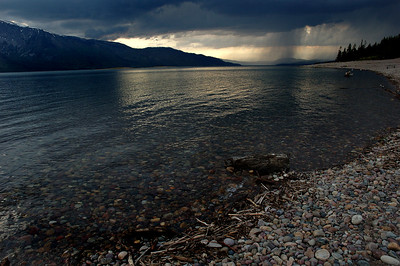 Colter Bay Landing Storm Comming