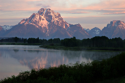 Mount Moran  Early Morning