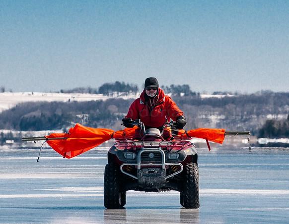 Grand Traverse Bay   Iceboats