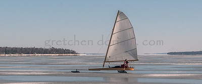 Iceboat | West Bay/Grand Traverse Bay, MI