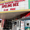 Special to the Record-Eagle/ Keith King<br /> People enter the State Theatre Sunday in downtown Traverse City prior to the start of the the 2018 Grand Traverse Regional Spelling Bee.