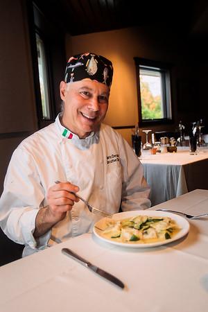 Record-Eagle/Pete Rodman<br /> Mario Deruda, executive chef of Bella Fortuna.