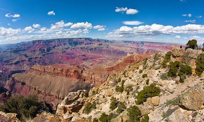 Grand Canyon Throught A Fisheye