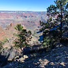 Nice view of Indian Gardens Campground, Plateau Point and the North Rim in the distance