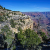 The following PICs were taken near the Bright Angel Trailhead before cycling to Hermits Rest.