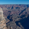 Cycled from Mather Campground to the Visitor Center and walked the Rim Trail near  Mather Point.