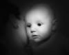 03 Brennan 11 Weeks Old (10x8) softfocus bokeh b&w
