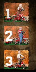 Cooper's 1 Year Old to 3 Years Old Collage (10 x 20)