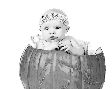 30 Cooper's 4th BDay Session - Faith (10x8) ascannerdarkly b&w