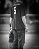 17 Cooper T-Ball Game May 2013 - Cooper & Matt (8x10) vig b&w