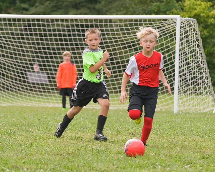 05 Cooper Soccer Game Sept 2018