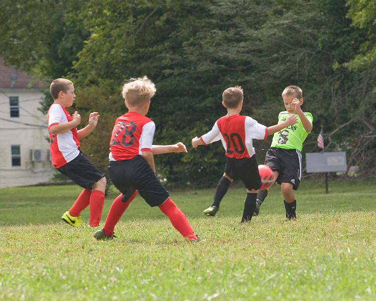 07 Cooper Soccer Game Sept 2018