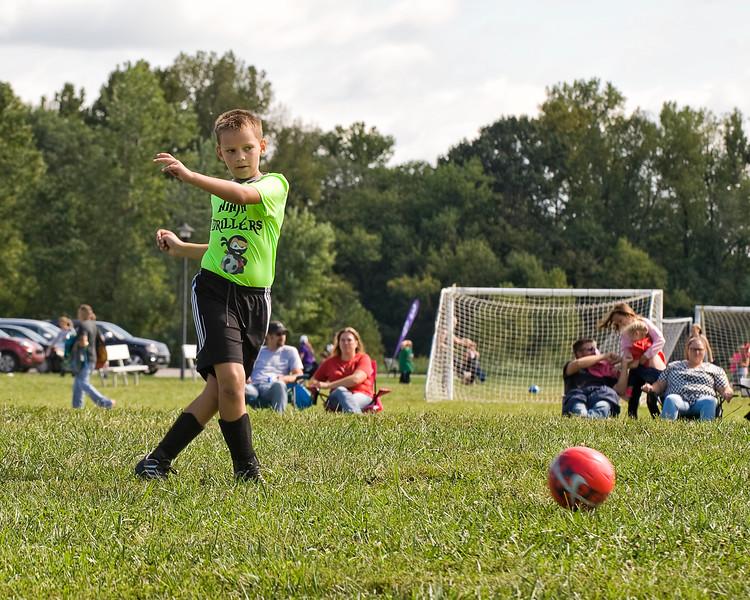 14 Cooper Soccer Game Sept 2018