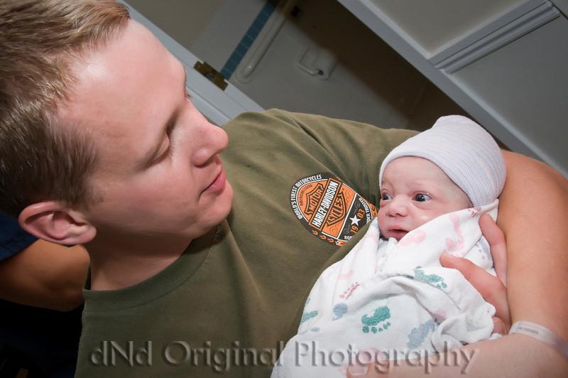 05a Cooper David Nicol's Birth - In Father's Arms vig