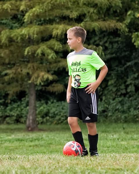 01 Cooper Soccer Game Sept 2018