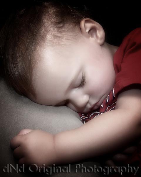 47 Cooper June 2010 Fathers Day - Sleeping (8x10 crop softfocus halfdesat)