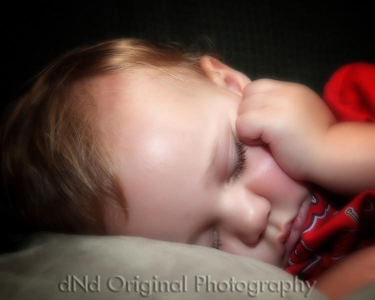46 Cooper June 2010 Fathers Day - Sleeping (10x8 crop softfocus)