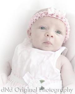 08 Faith - 5 weeks old (8x10) JibzPencilArtWithWhiteVig