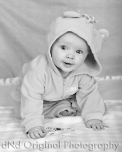 20 Faith 7 Months (8x10) b&w