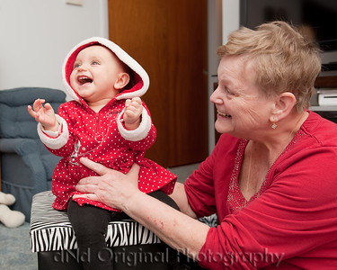 052 Christmas 2014 - Kyla & Debi