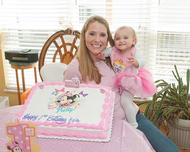 015 Kyla's 1st BDay Party - Heather & Kyla