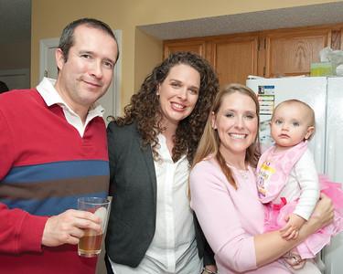 001 Kyla's 1st BDay Party - Heather & Kyla
