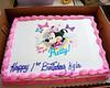 014 Kyla's 1st BDay Party - Cake