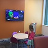 cartoons in waiting area