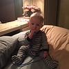 Liam found Nanny's phone cord