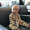At car dealer with Mommy