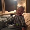 I love Nanny's bed