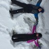 such fun - making snow angels